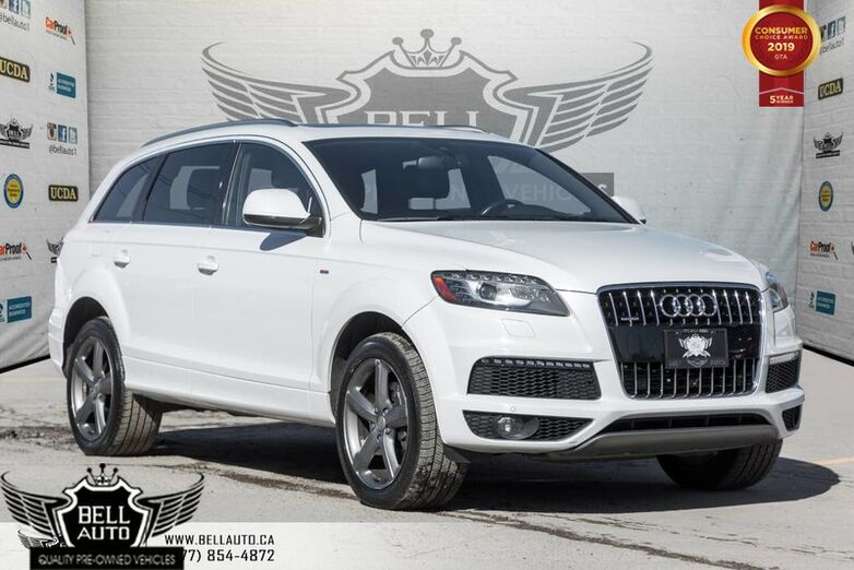 2015 Audi Q7 3.0T Vorsprung Edition S-line, NAVI, BACK-UP CAM, PANO ROOF, REMOTE STARTER Toronto ON