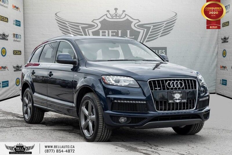 2015 Audi Q7 3.0T Vorsprung Edition,7 PASS,S-LINE, NAVI,PANO ROOF,PUSH START