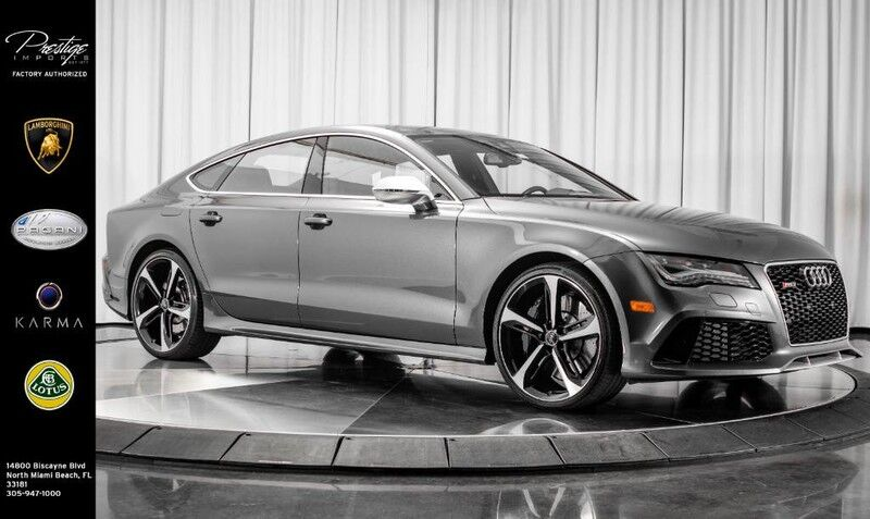 2015 Audi RS 7 Prestige North Miami Beach FL