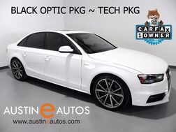 2015_Audi_S4 3.0T Quattro Premium Plus_*BLACK OPTIC PKG, NAVIGATION, SIDE ASSIST, BANG & OLUFSEN, FINE NAPPA LTHR, BACKUP-CAM, BLUETOOTH_ Round Rock TX