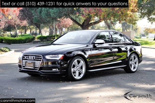2015 Audi S4 3.0T Quattro Premium Plus Tech Pack, B & O Sound New Brakes & Tires Excellent Condition! Fremont CA