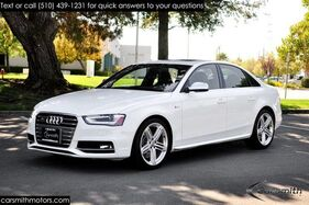 2015_Audi_S4_Premium Plus White/Black Sports Diff Loaded!_ Fremont CA