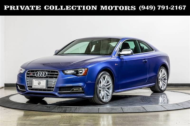 2015 Audi S5 Premium Plus 1 Owner Clean Carfax Costa Mesa CA