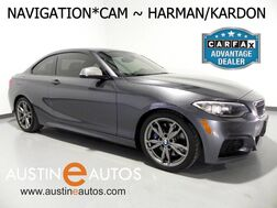 2015_BMW_2 Series M235i_*NAVIGATION, BACKUP-CAM, LANE DEPARTURE ALERT, COLLISION ALERT w/BRAKING, HARMAN/KARDON, MOONROOF, COLD WEATHER PKG, LEATHER, BLUETOOTH_ Round Rock TX