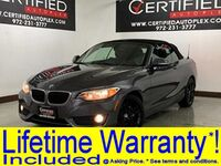 BMW 228i CONVERTIBLE NAVIGATION POWER LEATHER SEATS BLUETOOTH MEMORY SEAT KEYLESS EN 2015