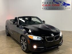 2015_BMW_228i Convertible_SPORT LINE COLD WEATHER PACKAGE LIGHTING PACKAGE LEATHER HEATED_ Addison TX