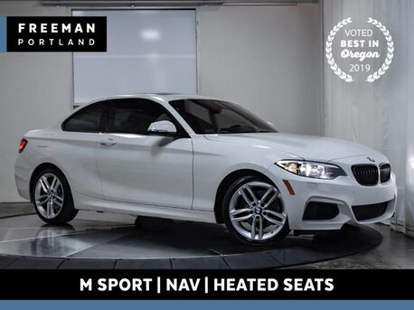 2015_BMW_228i_xDrive M Sport Nav Heated Seats Comfort Access_ Portland OR