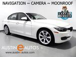 2015 BMW 3 Series 320i *NAVIGATION, BACKUP-CAMERA, MOONROOF, HEATED SEATS, PARK DISTANCE CONTROL, BLUETOOTH PHONE & AUDIO
