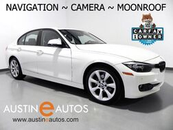 2015_BMW_3 Series 320i_*NAVIGATION, BACKUP-CAMERA, MOONROOF, HEATED SEATS, PARK DISTANCE CONTROL, BLUETOOTH PHONE & AUDIO_ Round Rock TX
