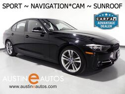 2015_BMW_3 Series 328i_*NAVIGATION, SPORT LINE, BACKUP-CAMERA, MOONROOF, PARK DISTANCE CONTROL, HEATED SEATS, BLUETOOTH PHONE & AUDIO_ Round Rock TX