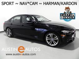 2015_BMW_3 Series 328i_*SPORT LINE, NAVIGATION, BACKUP-CAMERA, HARMAN/KARDON, LEATHER, MOONROOF, HEATED SEATS, BLUETOOTH_ Round Rock TX