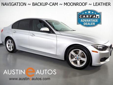 2015 BMW 3 Series 328i Sedan *NAVIGATION, BACKUP-CAMERA, MOONROOF, DAKOTA LEATHER, HEATED SEATS, COMFORT ACCESS, BLUETOOTH PHONE & AUDIO Round Rock TX