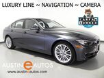 2015 BMW 3 Series 328i xDrive *LUXURY LINE, NAVIGATION, BACKUP-CAMERA, HEATED SEATS/STEERING WHEEL, COMFORT ACCESS, LEATHER, MOONROOF, LIGHTING, PKG, BLUETOOTH
