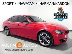 2015_BMW_3 Series 335i_*SPORT LINE, NAVIGATION, BACKUP-CAMERA, HARMAN/KARDON, LEATHER, HEATED SEATS, MOONROOF, COMFORT ACCESS, BLUETOOTH_ Round Rock TX