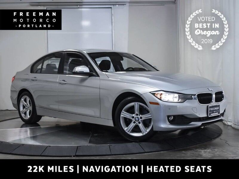 2015 BMW 320i xDrive 1 Owner 22k Miles Nav Htd Seats Back-Up Cam Portland OR