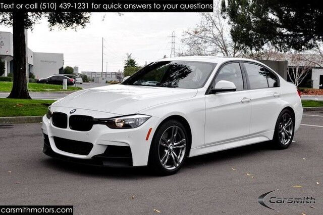 2015 BMW 328 M Sport Sedan with M Sport Brakes and Drivers Assistance Red Interior/18 wheels/Heated Seats Fremont CA