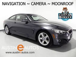 2015_BMW_4 Series 428i Coupe_*NAVIGATION, BACKUP-CAMERA, DAKOTA LEATHER, MOONROOF, COMFORT ACCESS, HEATED SEATS, BLUETOOTH PHONE & AUDIO_ Round Rock TX