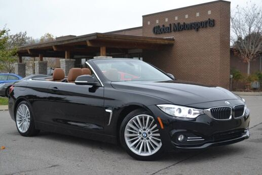 2015 BMW 4 Series 428i/Luxury Pkg/Drivers Assist Pkg/Cold Weather Pkg/Navigation/Rear View Cam/Heated Seats&Steering Wheel/Keyless Go/Park Sensors/Comfort Access Keyless Go/Bluetooth Audio/Sat Radio Nashville TN