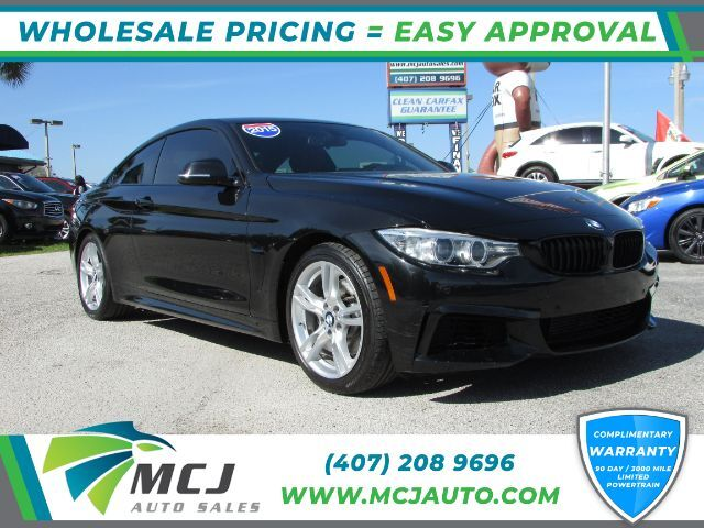 2015 BMW 4-Series 428i M-Sport Coupe