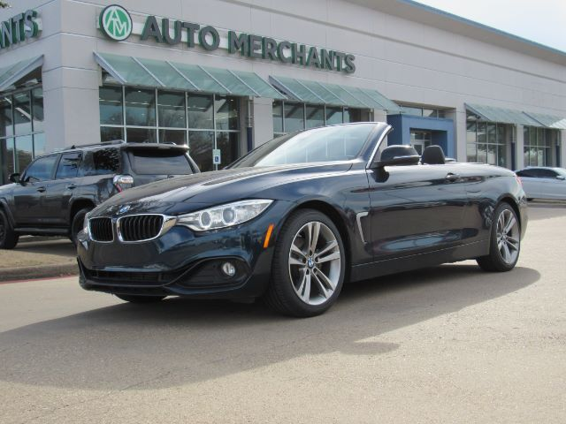 2015 BMW 4-Series 428i SULEV Convertible  NAVIGATION, LEATHER, HID LIGHTS, SEAT MEMORY, RAIN SENSOR, Plano TX