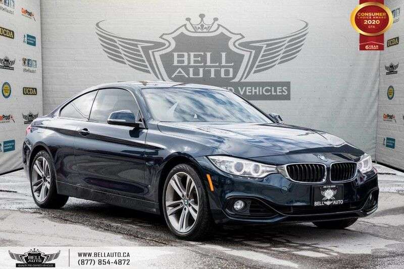 2015 BMW 4 Series 428i xDrive, AWD, COUPE, NAVI, REAR CAM, SENSORS