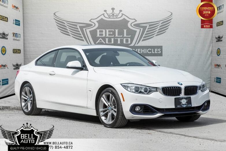 2015 BMW 4 Series 428i xDrive, COUPE, SPORT PKG, NAVI, BACK-UP CAM, SENSORS, PADDL Toronto ON