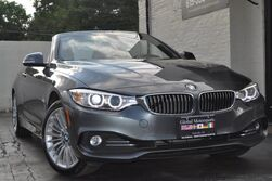 BMW 4 Series 428i xDrive Convertible/Luxury Line/Premium Pkg w/ Navigation, Comfort Access, Satellite HD Radio/Driver Assistance Pkg w/ Rear View Camera, PDC/Cold Weather Pkg w/ Heated Seats & Steering Wheel, Neck Warmers 2015