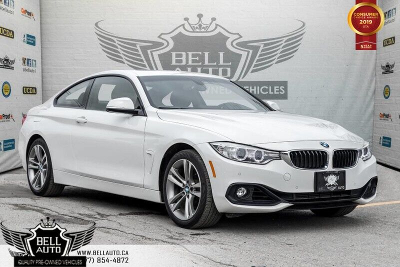 2015 BMW 4 Series 428i xDrive, NAVI, BACK-UP CAM, SUNROOF, PUSH START