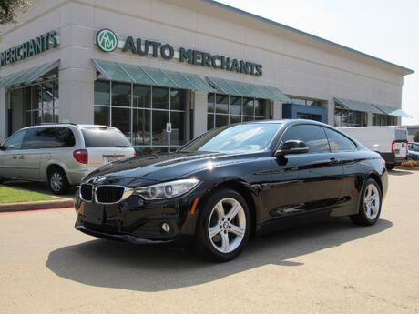 2015 BMW 4-Series 428i xDrive SULEV Coupe NAV, HTD STS, BACKUP CAM, SAT RADIO, BLUETOOTH, AUX, SUNROOF Plano TX