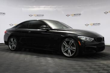 2015_BMW_4 Series_435i Coupe M Sport 6 Speed Manual Nav HUD REAR VIEW_ Houston TX