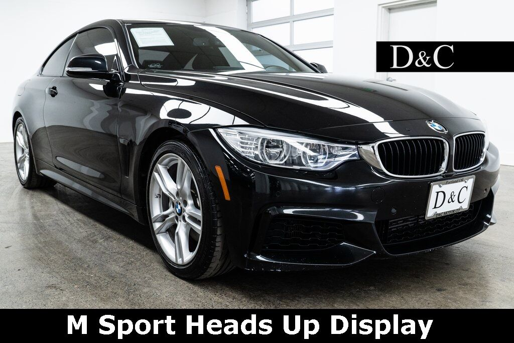 2015 BMW 4 Series 435i M Sport Heads Up Display Portland OR