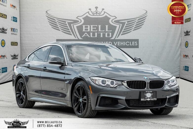 2015 BMW 4 Series 435i xDrive, AWD, GRAN COUPE, M SPORT, NAVI, REAR CAM, SUNROOF Toronto ON