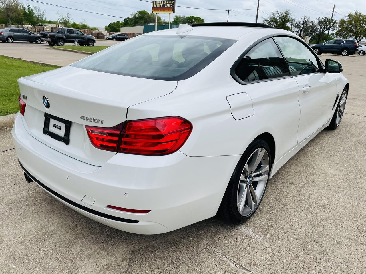 2015 BMW 4 Series M sport pkg 428i M Sport Dallas TX