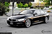 2015 BMW 428 M Sport Coupe w/ Drivers Assistance Pkg MSRP $53760 Premium/One Owner/California Car