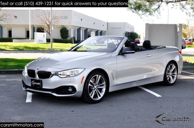 2015 BMW 428 Sport Convertible with Cold Weather MSRP $ 63,135 Lighting/Sport Pkg/Technology with Heads Up/Drivers Assistance Fremont CA