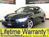 BMW 428i COUPE NAVIGATION SUNROOF LEATHER SEATS REAR CAMERA PARK ASSIST REAR PARKING AID 2015