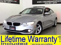 BMW 428i COUPE PREMIUM PKG NAVIGATION MOONROOF LEATHER SEATS BLUETOOTH PADDLE SHIFTERS 2015