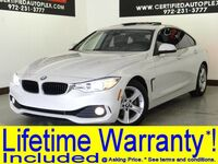 BMW 428i GRAN COUPE DRIVER ASSIST PLUS PKG NAVIGATION SUNROOF SIDE AND TOP VIEW CAM 2015