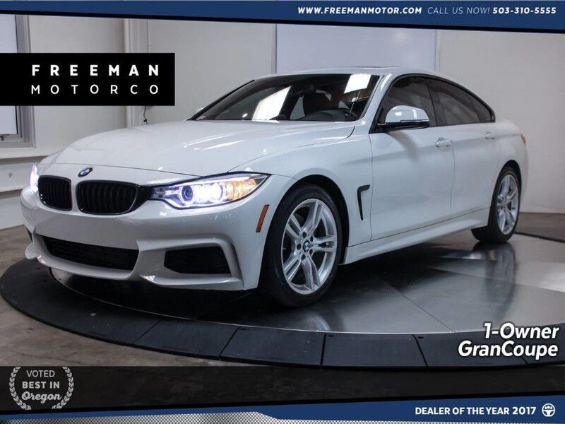 2015 BMW 428i Gran Coupe M Sport Heated Seats Comfort Access Portland OR