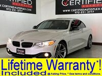 BMW 428i HARD TOP CONVERTIBLE SPORT PKG DRIVER ASSIST PKG TECH PKG PREMIUM PKG NAVIG 2015
