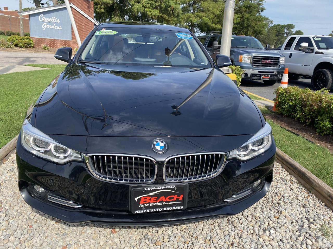 2015 BMW 428i XDRIVE GRANCOUPE, WARRANTY,  LEATHER, NAV, SUNROOF, HEATED SEATS, BLUETOOTH, 1 OWNER, LOW MILES! Norfolk VA