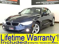 BMW 428i xDrive CONVERTIBLE PREMIUM PKG DRIVER ASSIST PKG COLD WEATHER PKG NECK WARMER NAVIGATION 2015