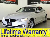 BMW 428i xDrive GRAN COUPE PREMIUM PKG DRIVER ASSIST PKG COLD WEATHER PKG NAVIGATION SUNROOF 2015