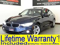 BMW 428xi xDrive GRAND COUPE XLINE PREMIUM PKG DRIVER ASSIST PKG COLD WEATHER PKG NAVIGATION SUNROOF 2015