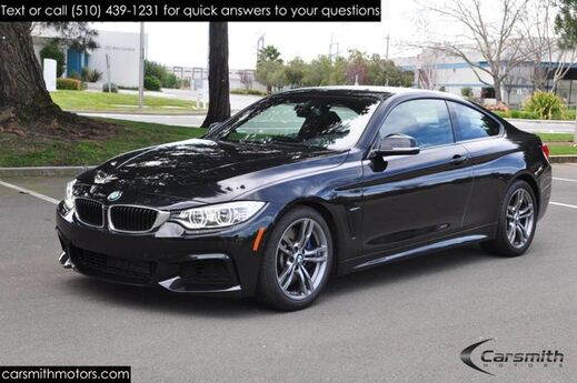 2015 BMW 435 M SPORT FULLY LOADED!! DYNAMIC HANDLING MSRP$64,925 Drivers Assistance Plus/Tech/Lighting/Cold Weather Fremont CA