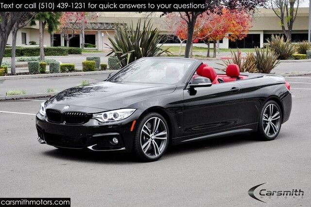 2015 BMW 435 M Sport Convertible MSRP $68,745 DYNAMIC HANDLING LOADED/Tech/Cold Weather/Premium/19 Wheels/Harmon Fremont CA