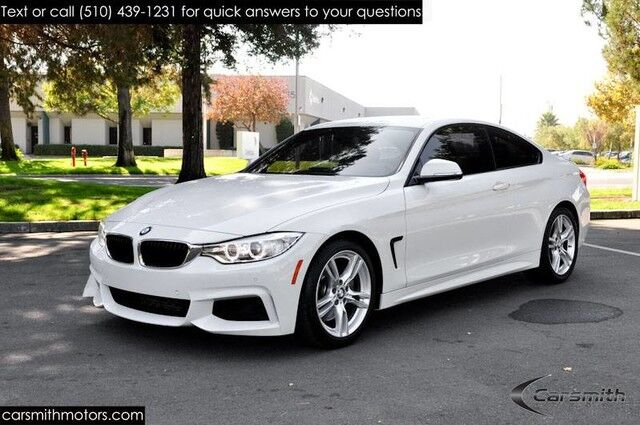 2015 BMW 435 M Sport Coupe Drivers Assistance /MSRP $54,845! Tech Package/Heads Up/Spoiler/BMW Upgraded Exhaust Fremont CA