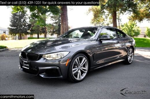 2015 BMW 435 M Sport Coupe Loaded and RARE 6 SPEED MANUAL $62,515 MSRP Drivers Assistance Plus/Lighting/Tech/16K Miles & LOADED!!! Fremont CA