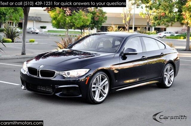 2015 BMW 435 M Sport Sedan Drivers Assistance Pkg/MSRP $59135 Technology/Premium/Harmon Kardon & 19 Wheels Fremont CA