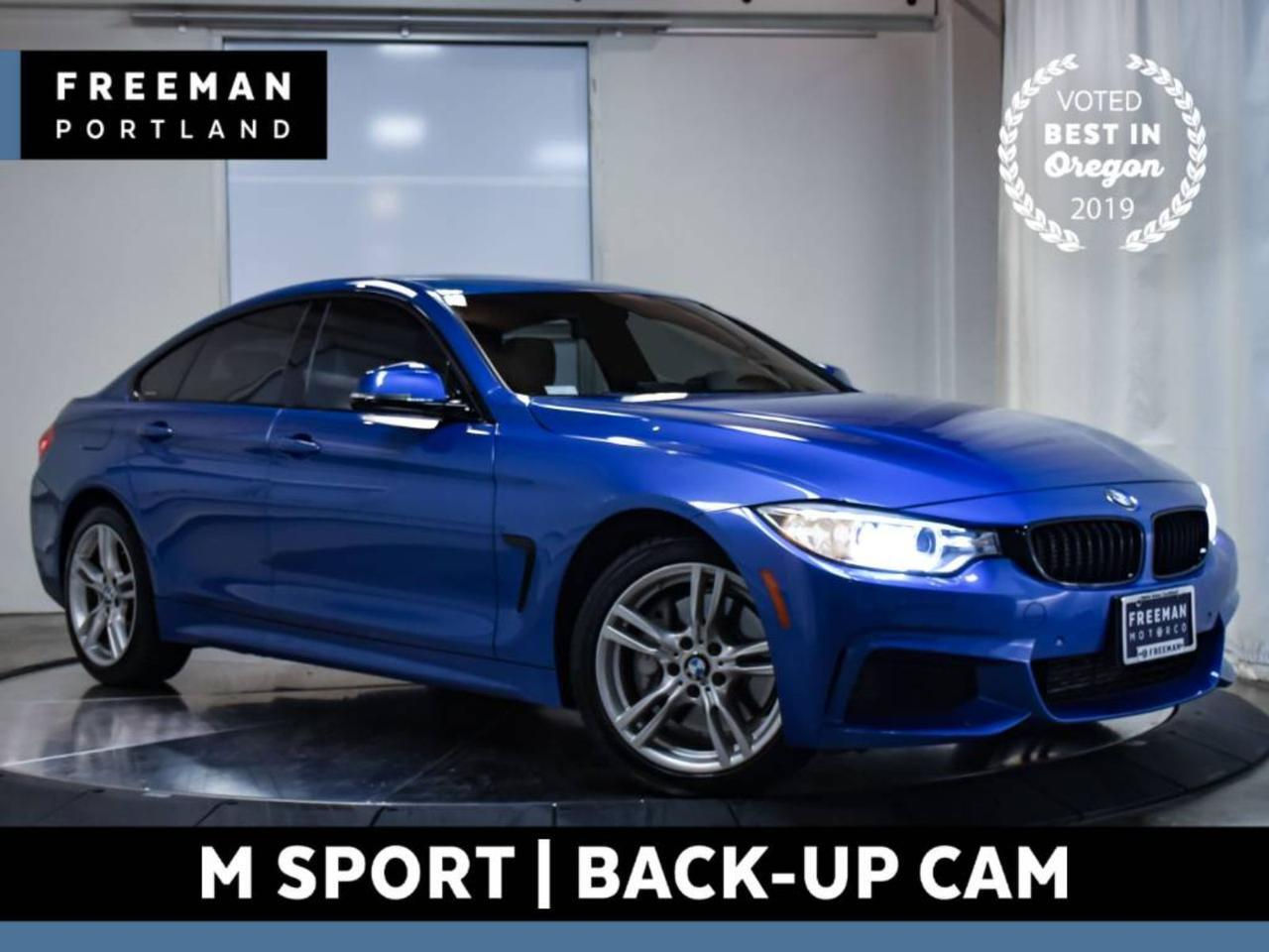 2015 BMW 435i xDrive Gran Coupe M Sport Heated Seats Backup Cam